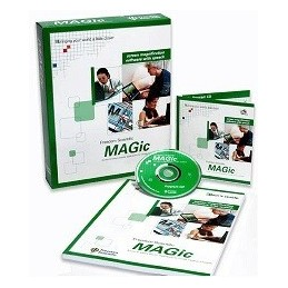 MAGic ingranditore con sintesi vocale