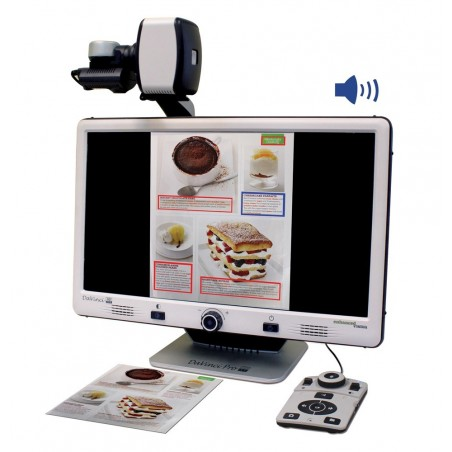 """Da Vinci Pro HD/OCR - Videoingranditore 24"""" con OCR"""