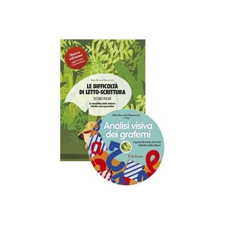 Le difficoltà di letto-scrittura 2 (KIT: Libro + CD-ROM)
