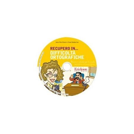 RECUPERO IN... Difficoltà ortografiche (CD-ROM)