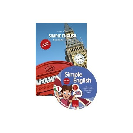 Simple English (KIT: Libro + CD-Audio + CD-ROM)