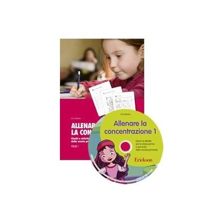 Allenare la concentrazione 1 (KIT: libro + CD-ROM)