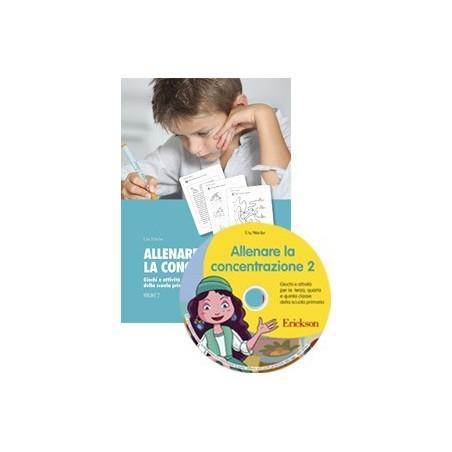 Allenare la concentrazione 2 (KIT: libro + CD-ROM)