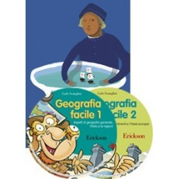 Geografia facile (KIT: Libro + 2 CD-ROM)