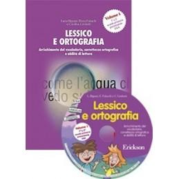 Lessico e ortografia 1 (KIT: Libro + CD-ROM)