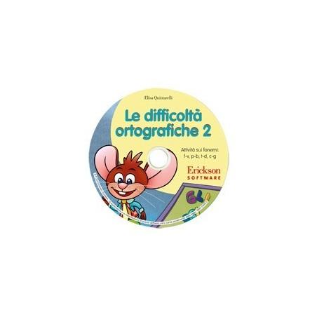 Le difficoltà ortografiche 2 (CD-ROM)