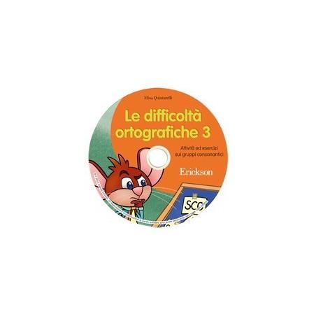 Le difficoltà ortografiche 3 (CD-ROM)