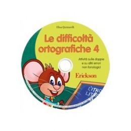 Le difficoltà ortografiche 4 (CD-ROM)