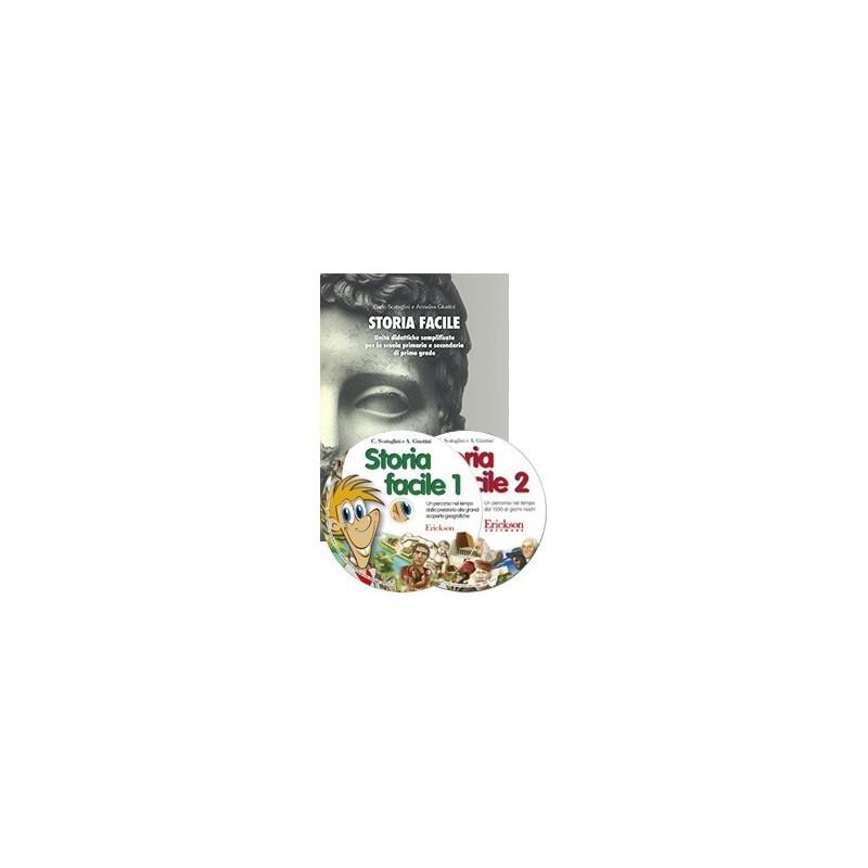 Storia facile (KIT: Libro + 2 CD-ROM)