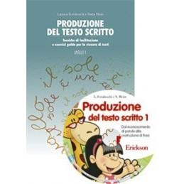 Produzione del testo scritto (KIT: Libro livello I + CD-ROM)