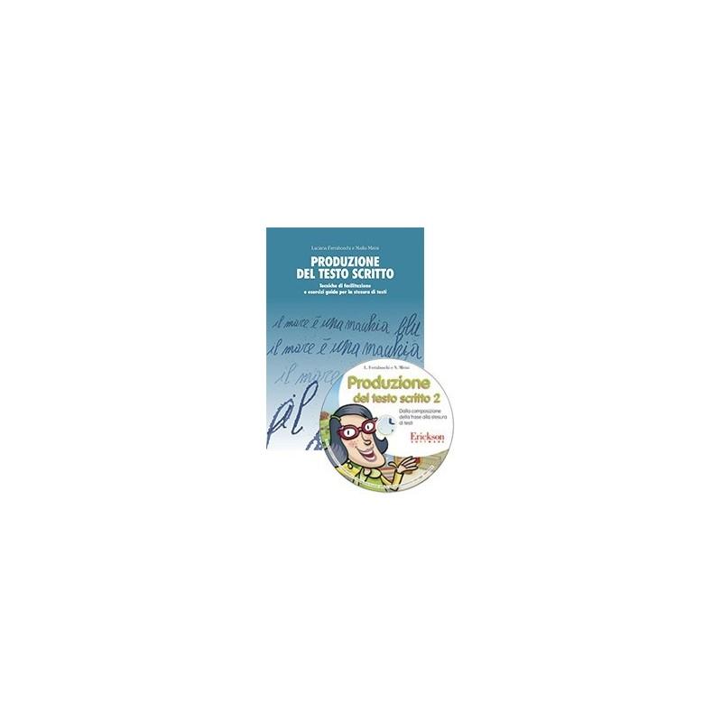 Produzione del testo scritto 2 (KIT: Libro livello 2 + CD-ROM)