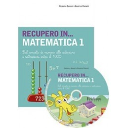 RECUPERO IN... Matematica 1 (KIT: CD-ROM + libro)