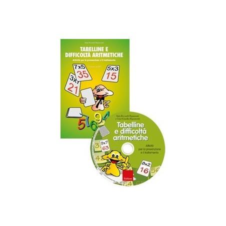 Tabelline e difficoltà aritmetiche (KIT: Libro + CD-ROM)
