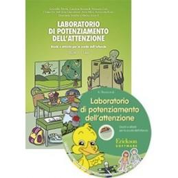 Laboratorio di potenziamento dell'attenzione 1 (5 anni) (KIT: CD-ROM + libro)