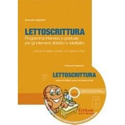 Lettoscrittura 6 (KIT: Libro + CD-ROM)