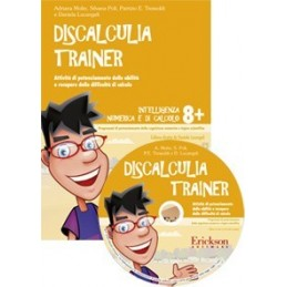 Discalculia trainer (KIT: libro + CD-ROM)