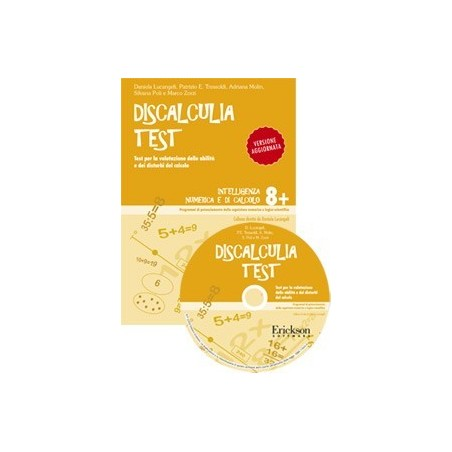 Discalculia test (KIT: libro + CD-ROM)