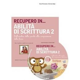 RECUPERO IN... Abilità di scrittura 2 (KIT: CD-ROM + libro