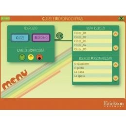 Cloze e riordino di frasi (CD-ROM)