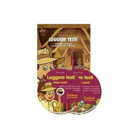 Leggere testi (KIT: libro + 2 CD-ROM)