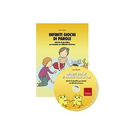 Infiniti giochi di parole con la LIM (KIT: libro + CD-ROM)