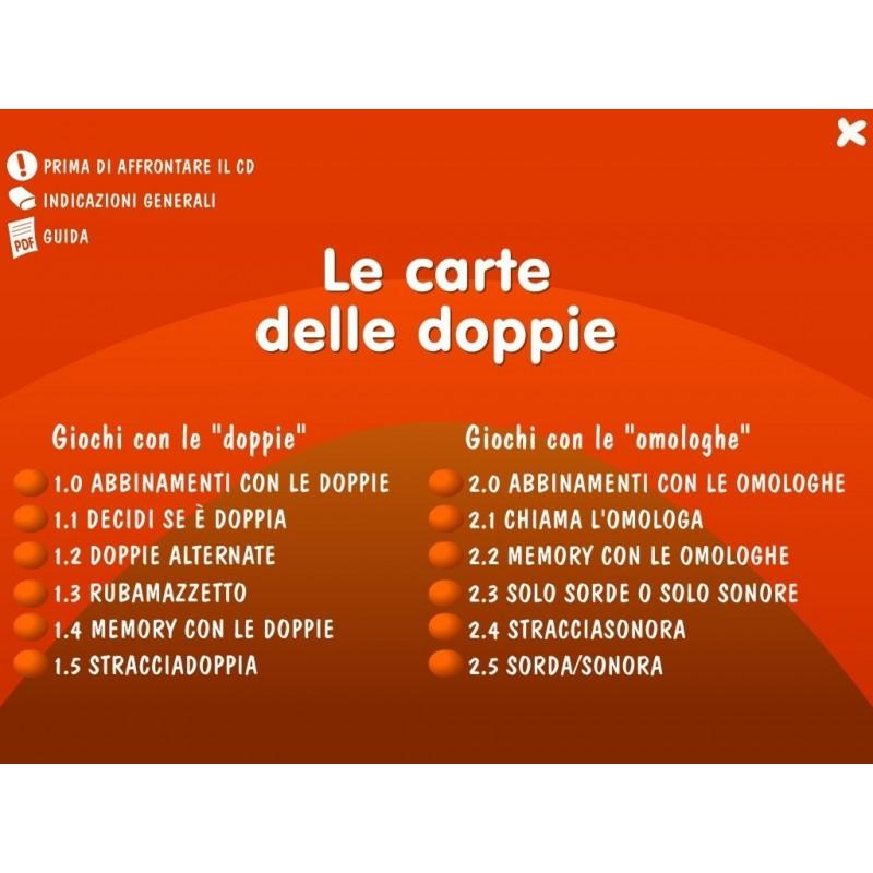 Le Carte Delle Doppie Kit Libro Cd Rom