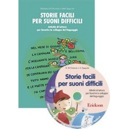 Storie facili per suoni difficili (KIT: libro + CD-ROM)