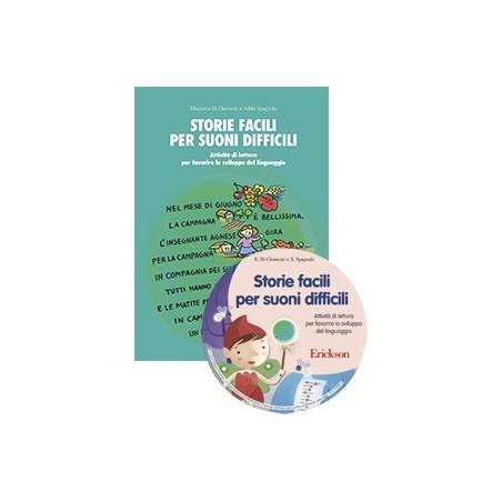 Storie facili per suoni difficili (KIT: libro + CD-ROM)