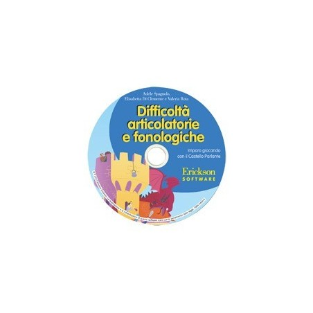 Difficoltà articolatorie e fonologiche (CD-ROM)