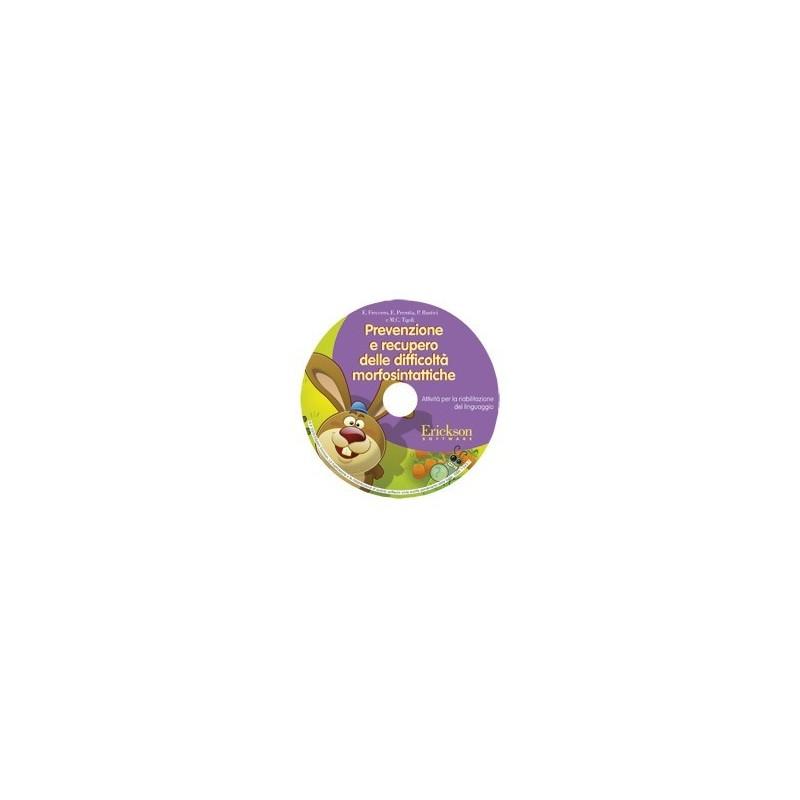 Prevenzione e recupero delle difficoltà morfosintattiche (CD-ROM