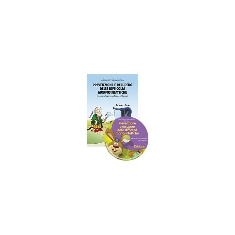 Prevenzione e recupero delle difficoltà morfosintattiche (KIT: Libro + CD-ROM)