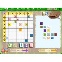 Imparare e giocare con la tavola pitagorica e la LIM (KIT: CD-ROM + libro)