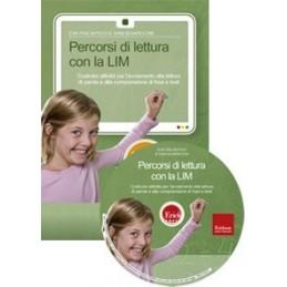 Percorsi di lettura con la LIM (KIT: CD-ROM + libro)