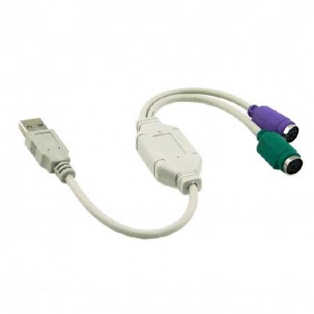 Adattatore USB a connettore PS2