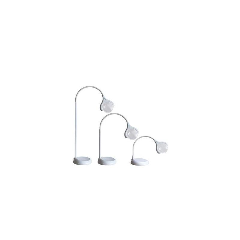 Lampada con lente di ingrandimento a LED da terra e tavolo