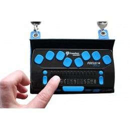 Focus 14 Blue display Braille