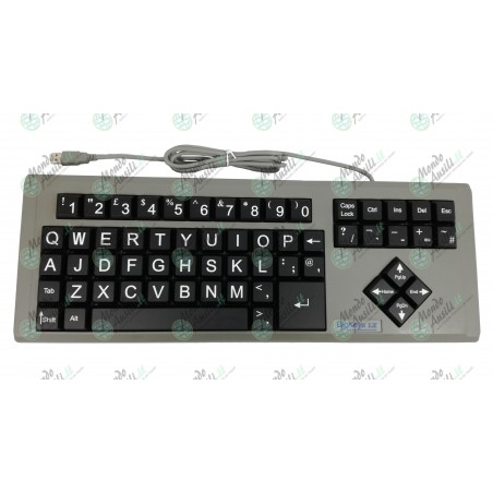Big Keys LX BQ (Nera qwerty)