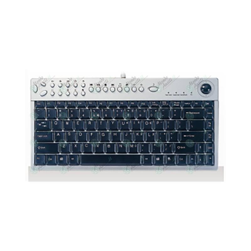 Mini tastiera ridotta con trackball