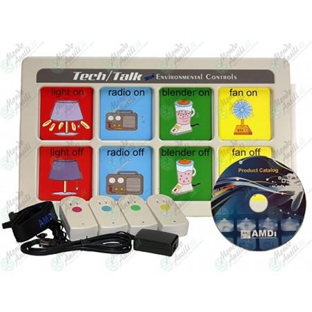 Tech/Talk con controllo ambientale