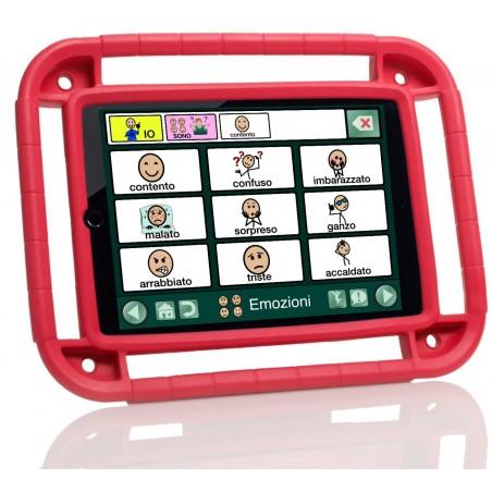Custodia in gomma per iPad