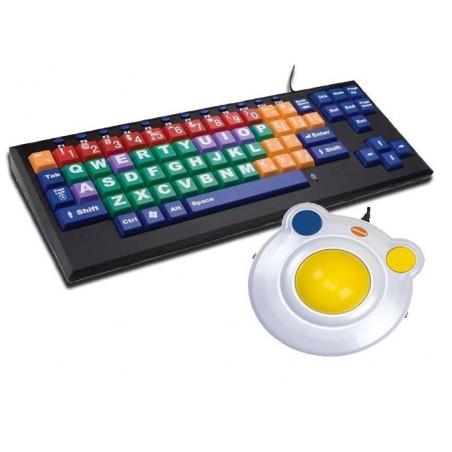ALBA Combo - Con tastiera VisionKeys Nera