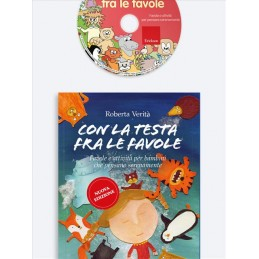 Con la testa fra le favole Kit (Libro + Cd-Rom)