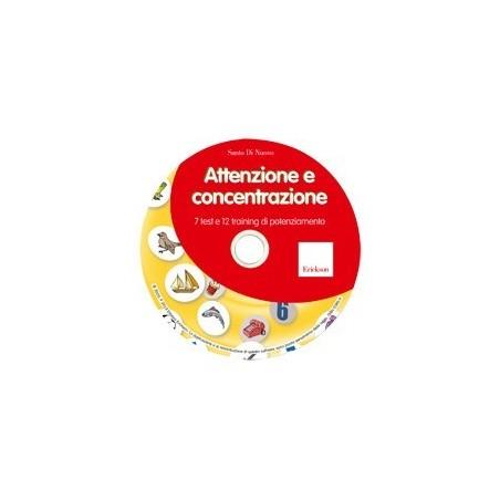 Attenzione e concentrazione - NUOVA EDIZIONE (CD-ROM)